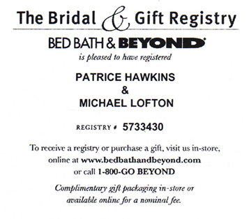 Www bed bath and beyond registry 28 images bed bath for Bed and bath wedding registry
